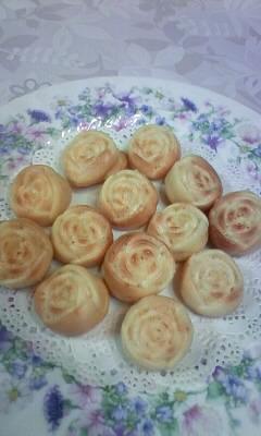 薔薇型ホットケーキ