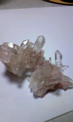 女神像の水晶